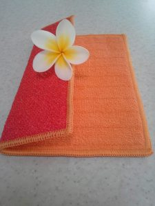 Microfibre kitchen cloth